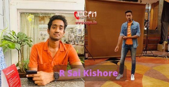 How to contact R Sai Kishore
