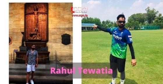 How to contact Raul Tewatia