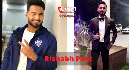 How to contact Rishabh Pant