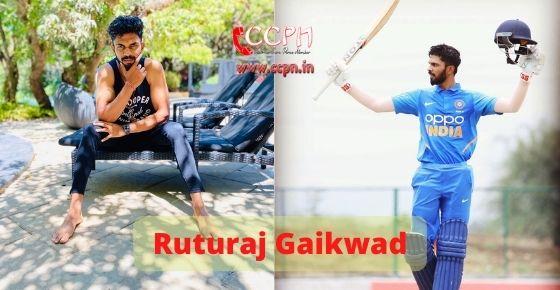 How to contact Ruturaj Gaikwad