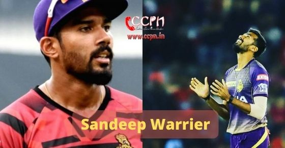 How to contact Sandeep Warrier