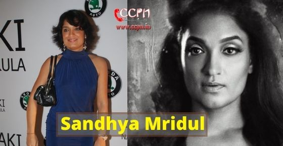How to contact Sandhya Mridul?
