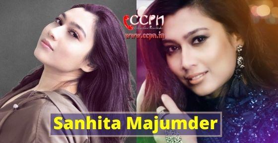 How to contact Sanhita Majumder?