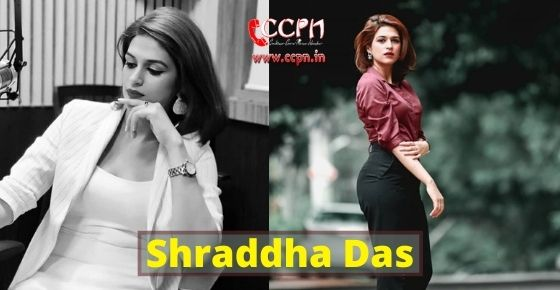 How to contact Shraddha Das?
