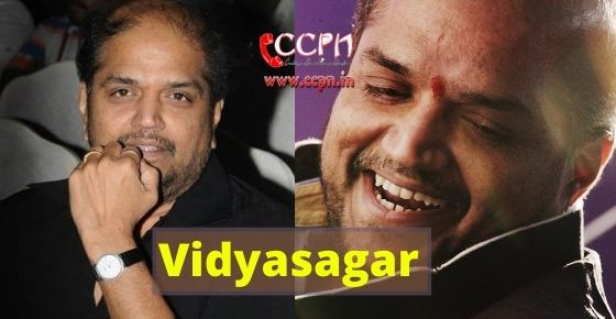 How to contact Vidyasagar?