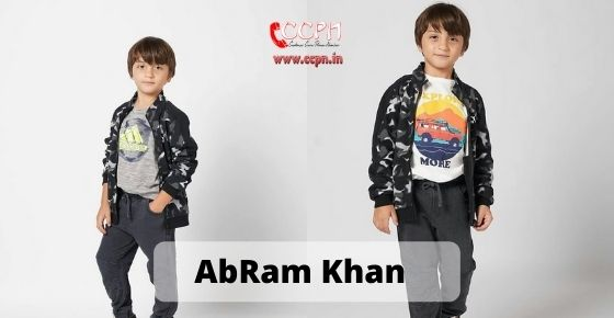 How to contact AbRam Khan