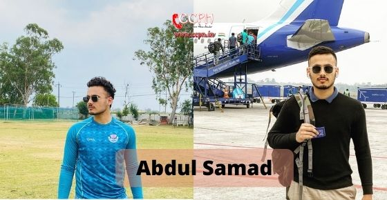How to contact Abdul Samad