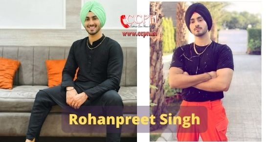 How to contact  Rohanpreet Singh