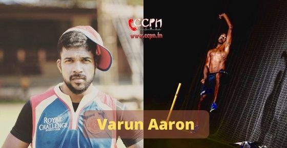How to contact  Varun Aaron