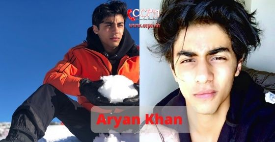 How to contact Aryan Khan