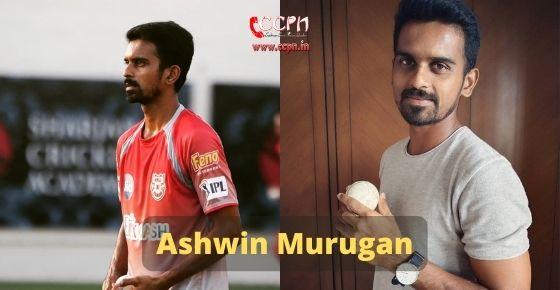 How to contact Ashwin Murugan