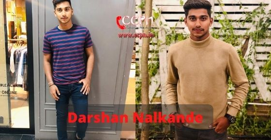 How to contact Darshan Nalkande