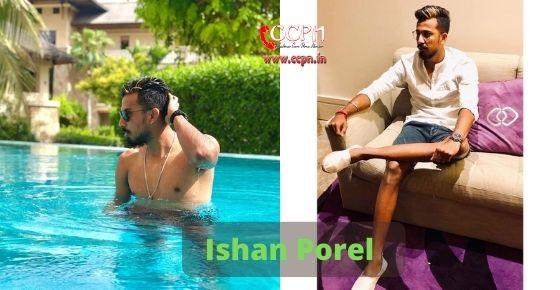 How to contact Ishan Porel