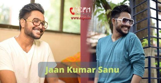 How to contact Jaan Kumar Sanu