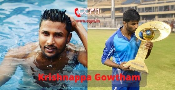 How to contact Krishnappa Gowtham