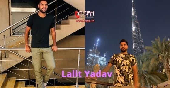 How to contact Lalit Yadav