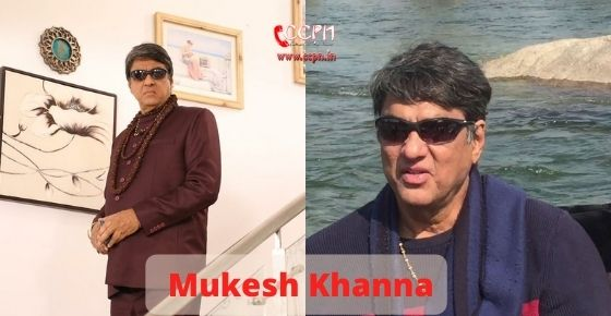 How to contact Mukesh Khanna