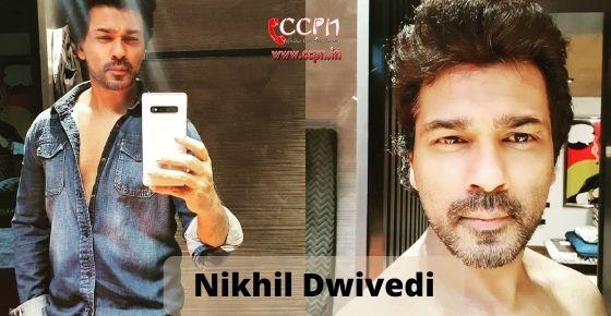 How to contact Nikhil Dwivedi