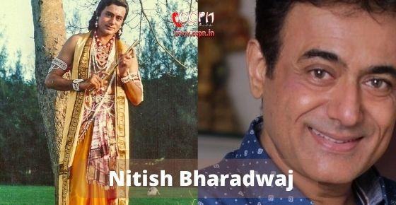 How to contact Nitish Bharadwaj