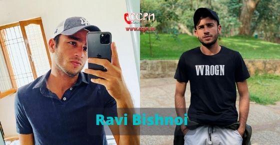 How to contact Ravi Bishnoi