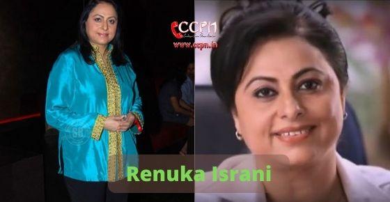 How to contact Renuka Israni