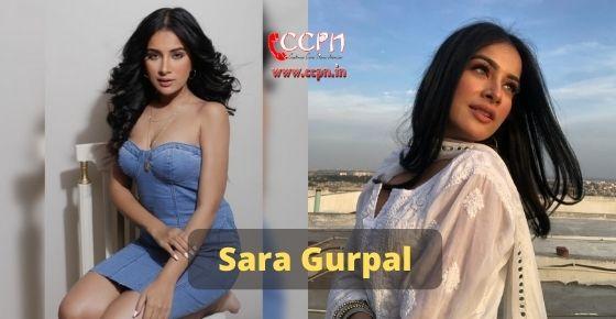 How to contact Sara Gurpal
