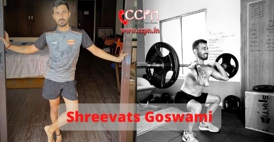 How to contact Shreevats Goswami