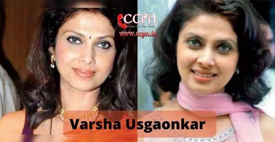 How to contact Varsha Usgaonkar