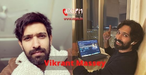 How to contact Vikrant Massey