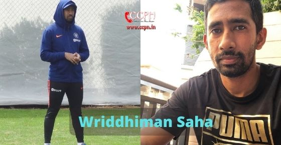 How to contact Wriddhiman Saha