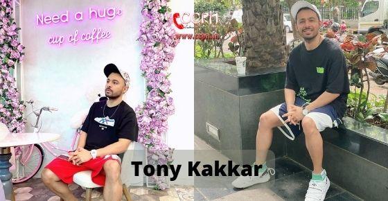 How to contact Tony Kakkar
