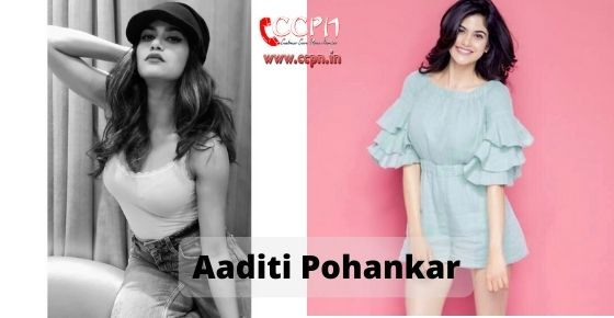 How to contact Aaditi Pohankar