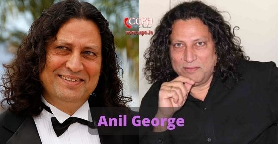 How to contact Anil George