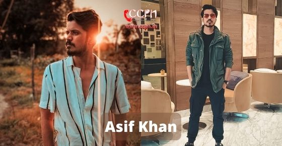 How to contact Asif Khan