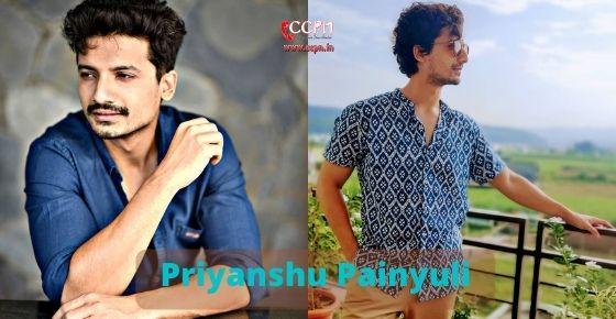 How to contact Priyanshu Painyuli