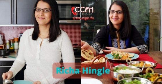 How to contact Richa Hingle