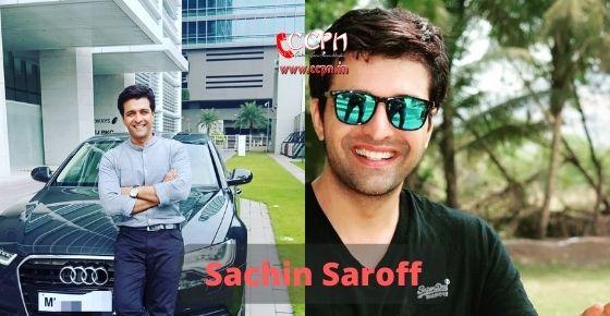 How to contact Sachin Saroff