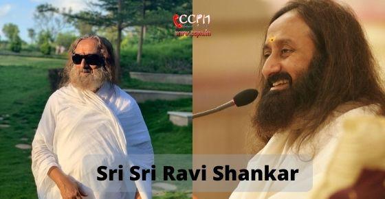 How to contact Sri Sri Ravi Shankar