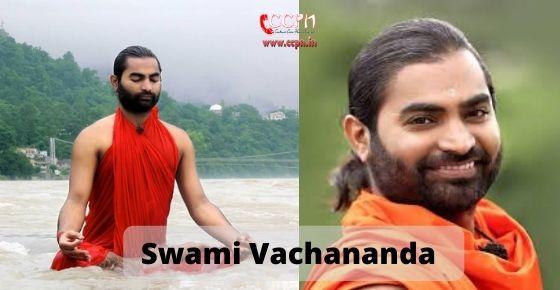 How to contact Swami Vachananda