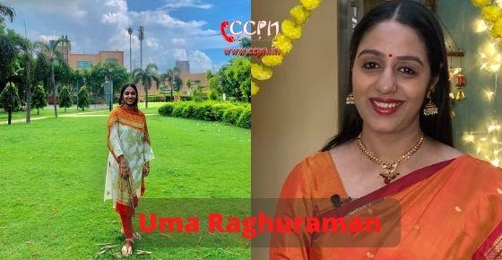 How to contact Uma Raghuraman