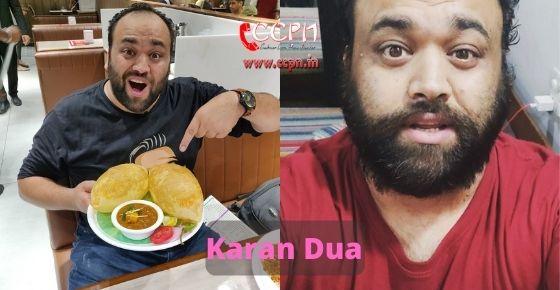 How to contact Karan Dua