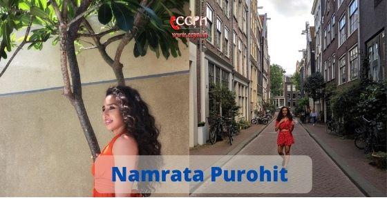 How to contact Namrata Purohit