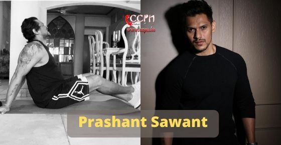 How to contact Prashant Sawant