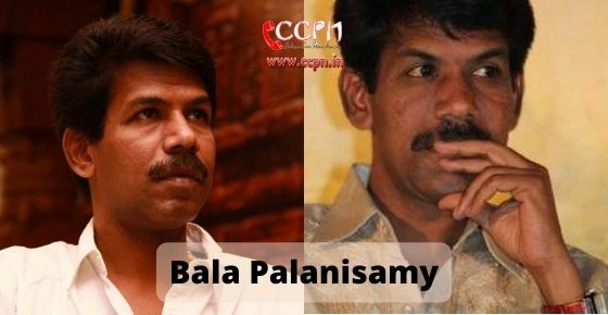 How to contact Bala Palanisamy
