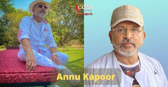How to contact Annu Kapoor
