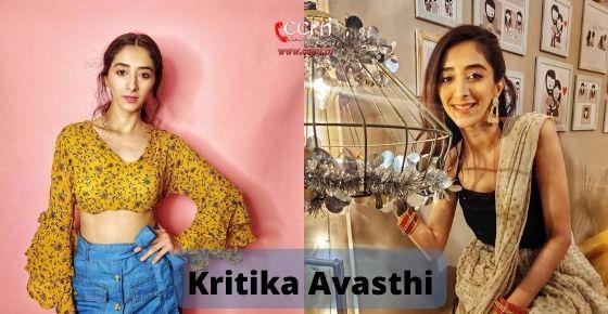 How to contact Kritika Avasthi