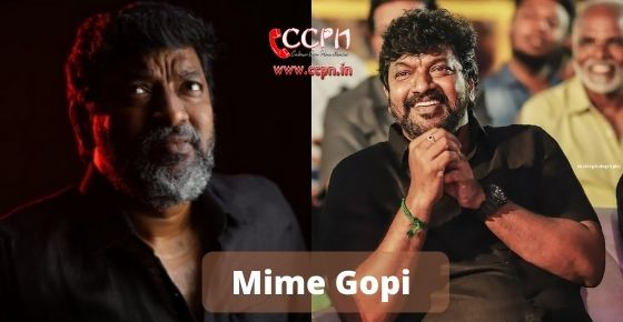 How to contact Mime Gopi