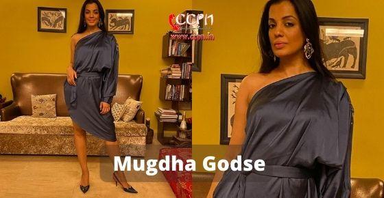 How to contact Mugdha Godse