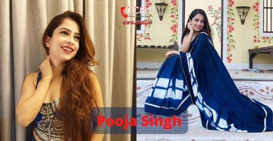 How to contact Pooja Singh
