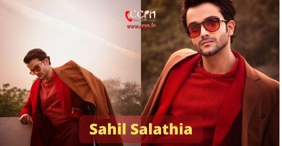How to contact Sahil Salathia
